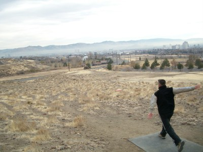 Rancho San Rafael Park, The Ranch, Hole 16 Tee pad