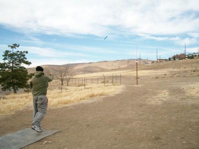 Rancho San Rafael Park, The Ranch, Hole 17 Tee pad