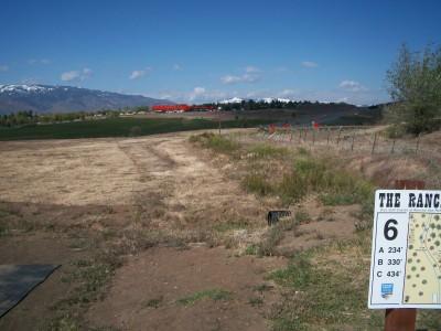 Rancho San Rafael Park, The Ranch, Hole 6 Hole sign