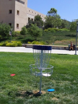 Cal State University San Marcos, Cal State San Marcos DGC, Hole 12 Putt
