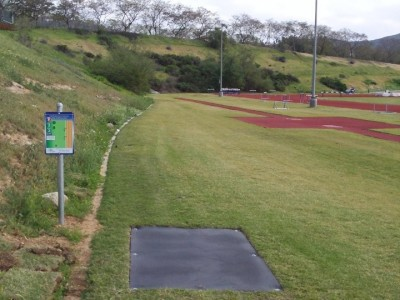 Cal State University San Marcos, Cal State San Marcos DGC, Hole 7 Tee pad
