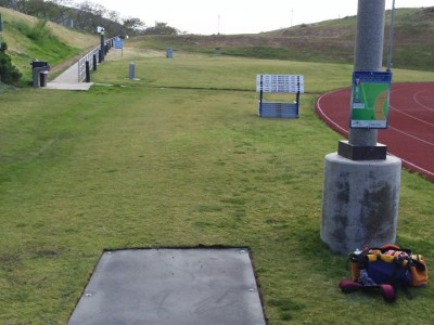 Cal State University San Marcos, Cal State San Marcos DGC, Hole 8 Tee pad