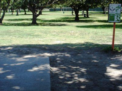 El Dorado Park, Main course, Hole 8 Tee pad