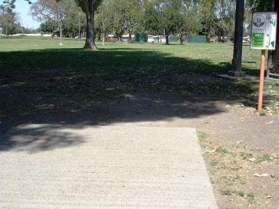 El Dorado Park, Main course, Hole 11 Tee pad