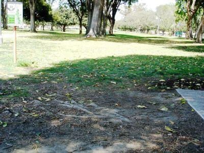 El Dorado Park, Main course, Hole 10 Tee pad
