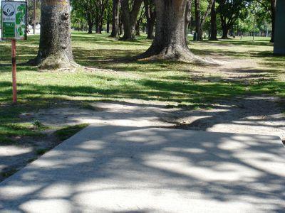 El Dorado Park, Main course, Hole 6 Tee pad