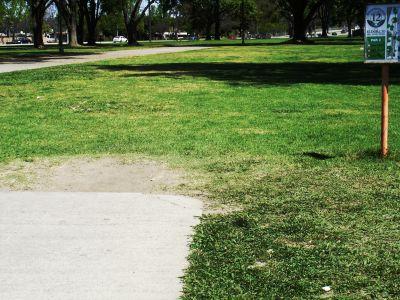 El Dorado Park, Main course, Hole 12 Tee pad