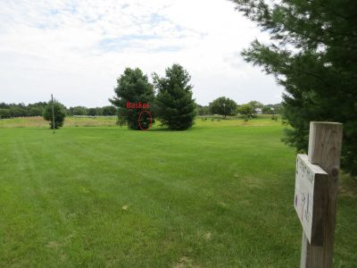 Phantom Lake YMCA Camp, Main course, Hole 1 Short tee pad