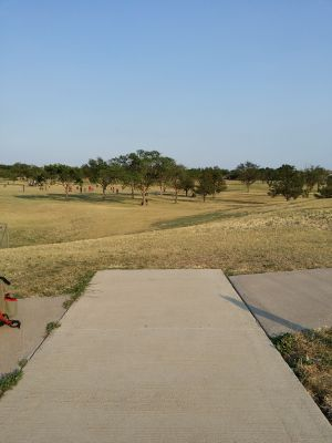 Running Water Draw Park, Main course, Hole 1 Long tee pad