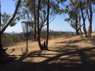 Chavez Ridge at Elysian, Main course, Hole 17 Reverse (back up the fairway)