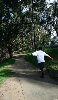 Chavez Ridge at Elysian, Main course, Hole 6 Tee pad