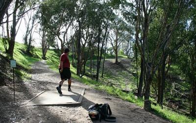 Chavez Ridge at Elysian, Main course, Hole 2 Tee pad