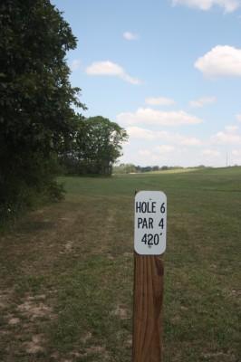 Defiance Reservoir, Defiance DGC, Hole 6 Tee pad