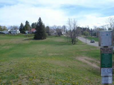 Al Quaal Recreation Area, Main course, Hole 1 Long approach