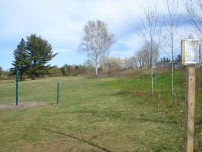 Al Quaal Recreation Area, Main course, Hole 2 Tee pad