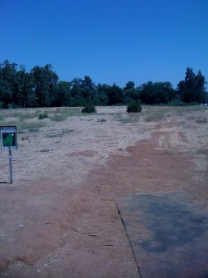 Kit Carson Park, Main course, Hole 3 Tee pad