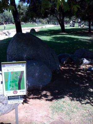 Kit Carson Park, Main course, Hole 6 Tee pad