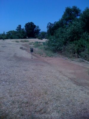 Kit Carson Park, Main course, Hole 4 Tee pad