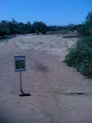 Kit Carson Park, Main course, Hole 13 Tee pad