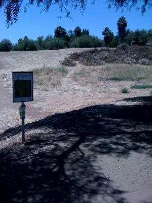 Kit Carson Park, Main course, Hole 12 Tee pad