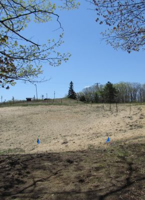 Hanson Hills Recreation Area, Grayling Rotary DGC, Hole 17 Tee pad
