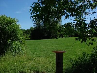 Clay Park Central, Clay, Hole 10 Tee pad