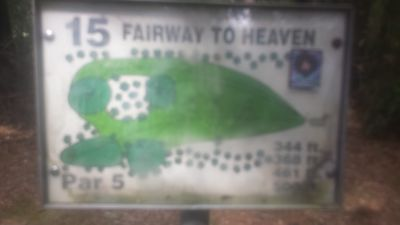 Redan Park, Main course, Hole 15 Hole sign