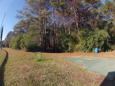 Aggieland DGC, Main course, Hole 3 Tee pad
