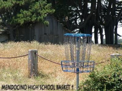 Mendocino High School, Main course, Hole 1 Putt