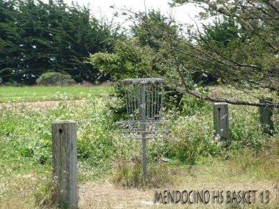 Mendocino High School, Main course, Hole 13 Putt