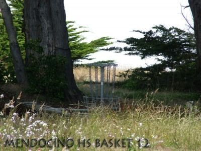 Mendocino High School, Main course, Hole 12 Putt