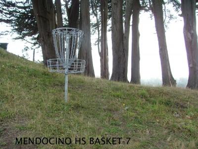 Mendocino High School, Main course, Hole 7 Putt