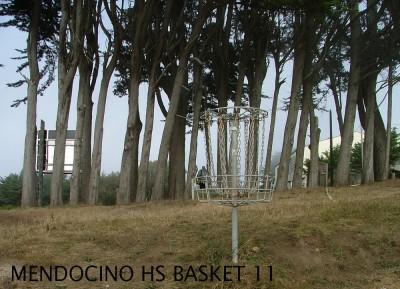 Mendocino High School, Main course, Hole 11 Putt