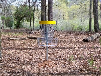 Mathews Park, Main course, Hole 8 Putt