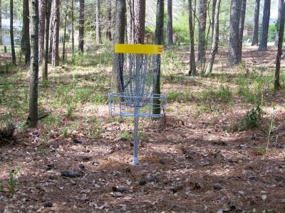 Mathews Park, Main course, Hole 14 Putt