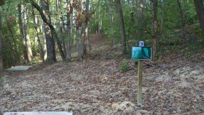 Athens Regional Park, Main course, Hole 7 Long tee pad