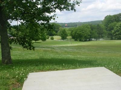 Athens Regional Park, Main course, Hole 1 Long tee pad
