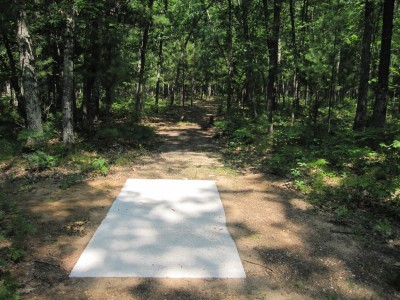 Udell Rollways, Main course, Hole 1 Long tee pad