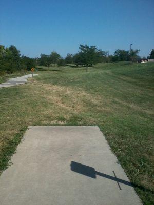 Legacy Park, Legacy Park, Hole 1 Tee pad