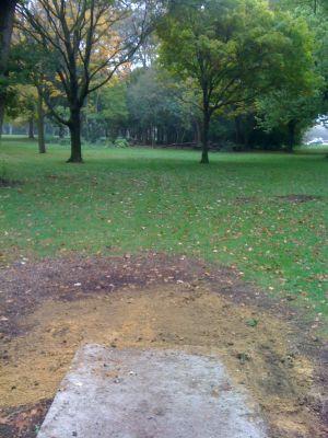 Estabrook Park, Main course, Hole 16 Tee pad