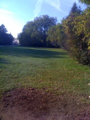 Estabrook Park, Main course, Hole 8 Tee pad