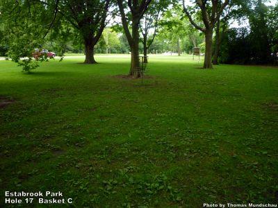 Estabrook Park, Main course, Hole 17 Alternate pin