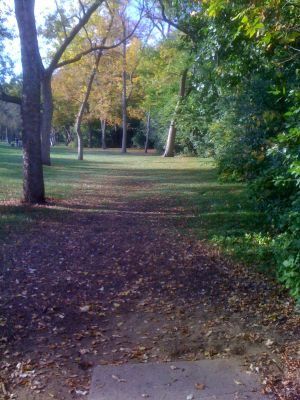 Estabrook Park, Main course, Hole 4 Tee pad