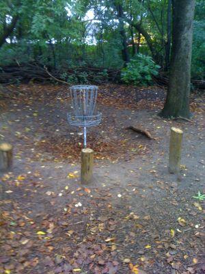 Estabrook Park, Main course, Hole 4 Putt