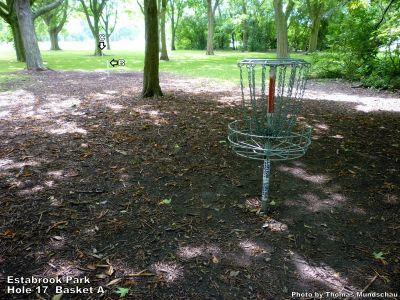 Estabrook Park, Main course, Hole 17 Putt