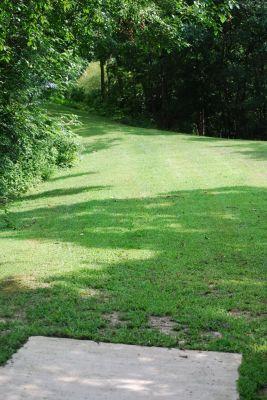 Butterworth Park, Main course, Hole 7 Tee pad