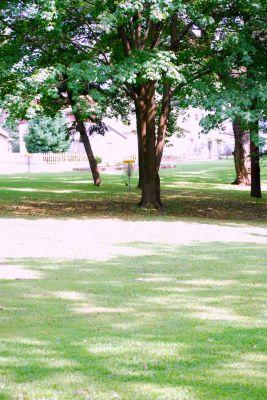 Butterworth Park, Main course, Hole 9 Midrange approach