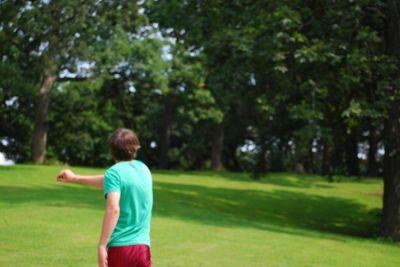 Butterworth Park, Main course, Hole 9 Tee pad