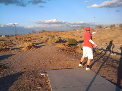 Paseo Vista, Main course, Hole 13 Tee pad