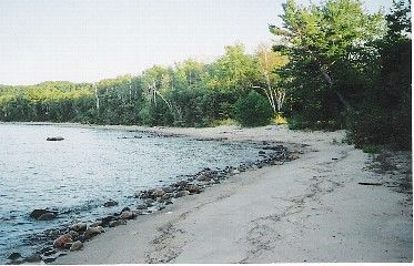 Sault Seal Recreation Area, Dalimonte DGC, Hole 4 Tee pad